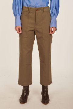 Pantalone verde Camille