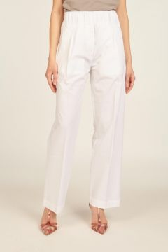 White Gilbert Trousers