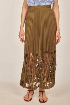 Green Amanda skirt
