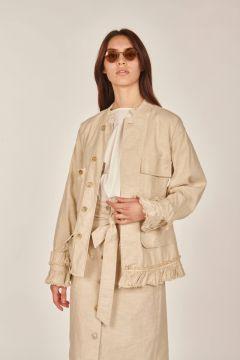 Cleope ivory jacket
