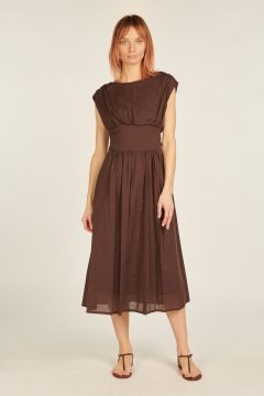 Luana brown dress
