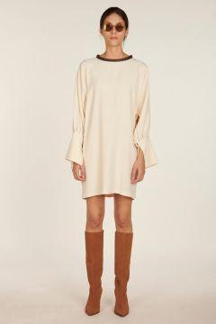 Tabata ivory short dress
