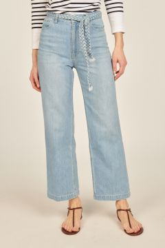 Sully denim trousers with belt
