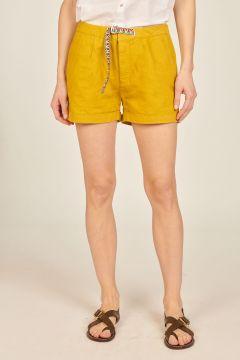 Yellow Little Bermuda pants