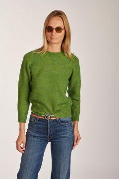 Maglia Envie a girocollo verde
