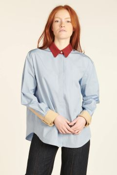 Shirt With Colored Details