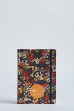 milaura notebook multicolor doll all over