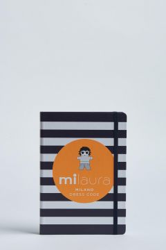 milaura striped notebook