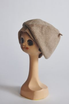 Melange beret in wool