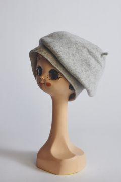 Basco grigio in lana
