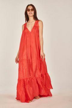 Red Tanit dress