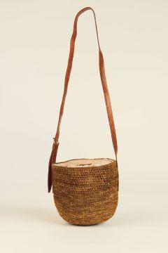 Dark Tea Saina bucket bag