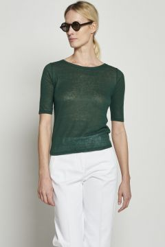 Sweater in linen