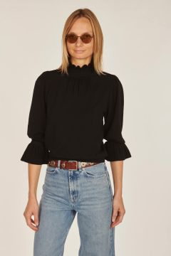Sinto sweater with rouches