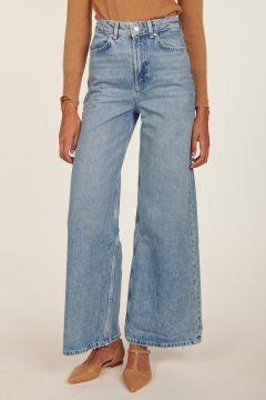 Pantalone in denim blu chiaro Soul