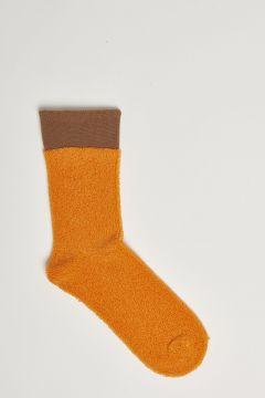 orange sponge effect stockings