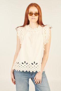 White Hazel Sleeveless Top