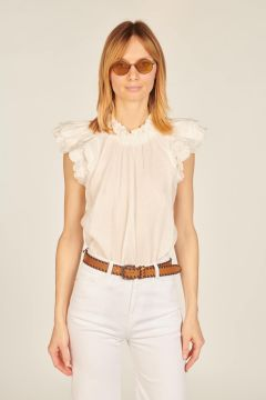 White Shannon top
