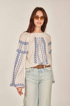 White Goa shirt