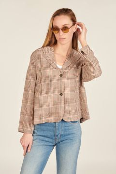 Stoemp checkered Jacket