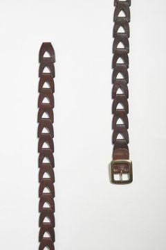Black chain belt