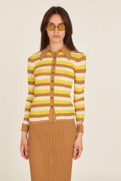 Tilde striped cardigan