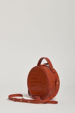 orange round bag