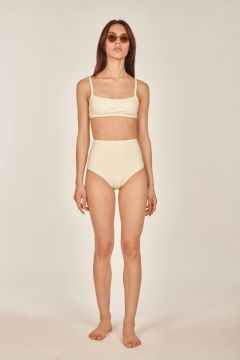 Ivory white bikini