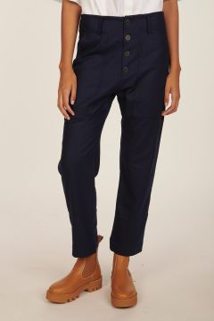 Pilot blue trousers